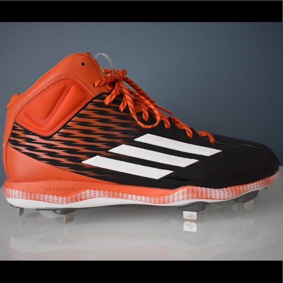 cheap for discount 95d0a c0f49 Adidas Power Alley 3 Mid Metal Baseball Cleats